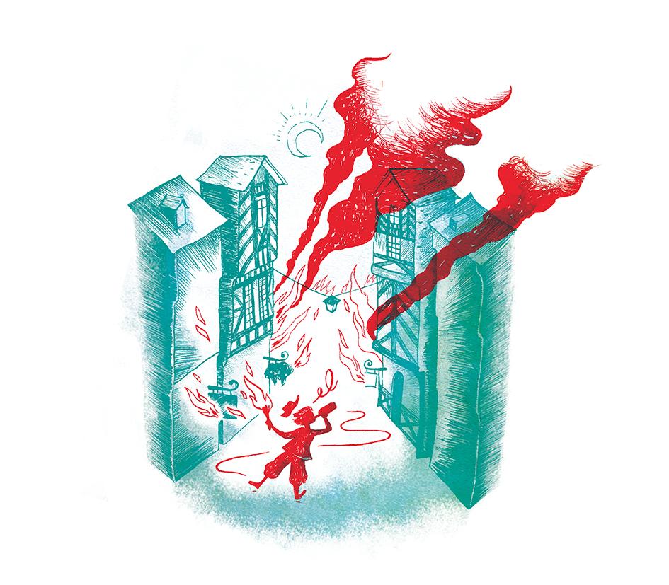 Création illustrations // Mensuel de Rennes, groupe Télégramme