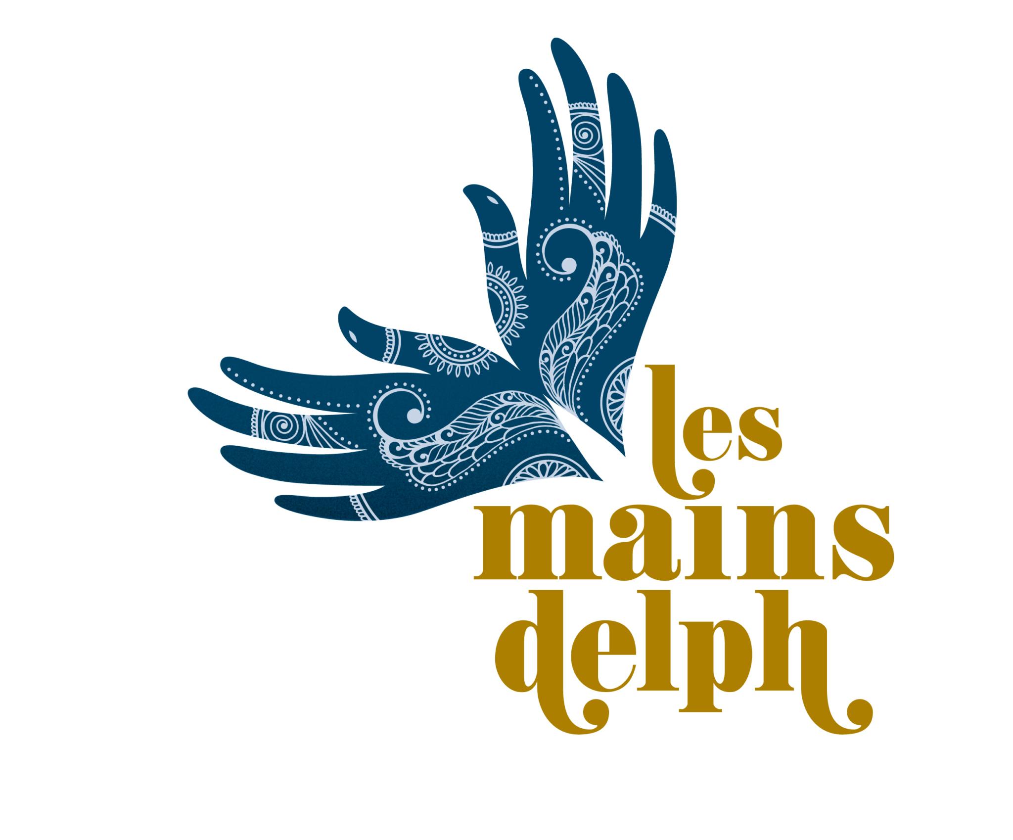 création logo charte graphique Mains Delph