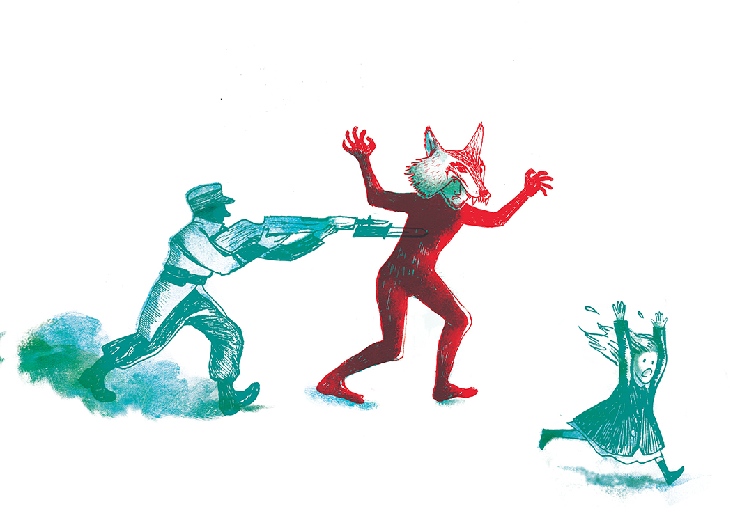 Création illustration // Mensuel de Rennes, groupe Télégramme