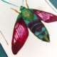 Hummingbird moth - dessin original à l'encre en vente