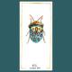 Picasso bug - dessin original à l'encre en vente